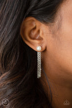 Load image into Gallery viewer, Paparazzi Rebel Refinement - White Earrings
