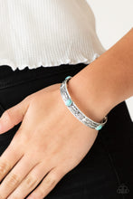 Load image into Gallery viewer, Paparazzi Wild West Story - Blue Bracelet
