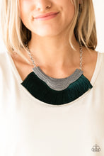 Load image into Gallery viewer, Paparazzi My PHARAOH Lady - Green Necklace
