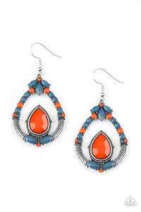 Paparazzi Vogue Voyager Multi Earrings