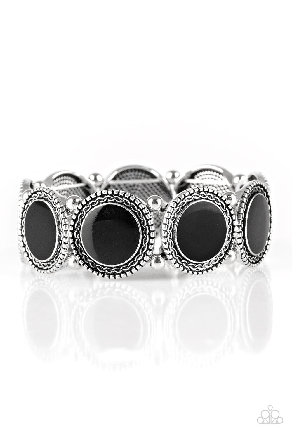 Paparazzi Girls Getaway - Black Bracelet