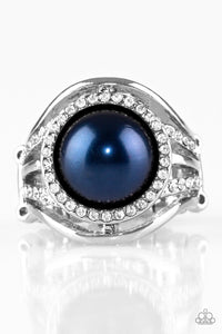 Paparazzi Pampered In Pearls - Blue Papa Ring R40