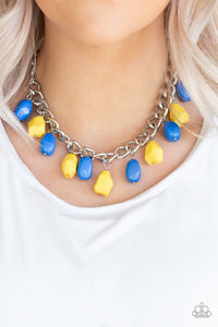 Paparazzi Take The COLOR Wheel! - Multi Necklace