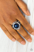 Load image into Gallery viewer, Paparazzi Pampered In Pearls - Blue Papa Ring R40