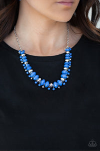 Paparazzi BRAGs To Riches - Blue Necklace N-B23