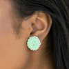 Load image into Gallery viewer, Paparazzi Dandelion Demure - Green Earring