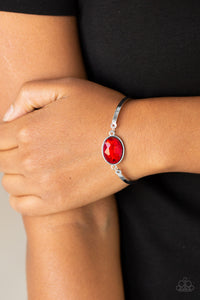 Paparazzi Definitely Dashing - Red Bracelet