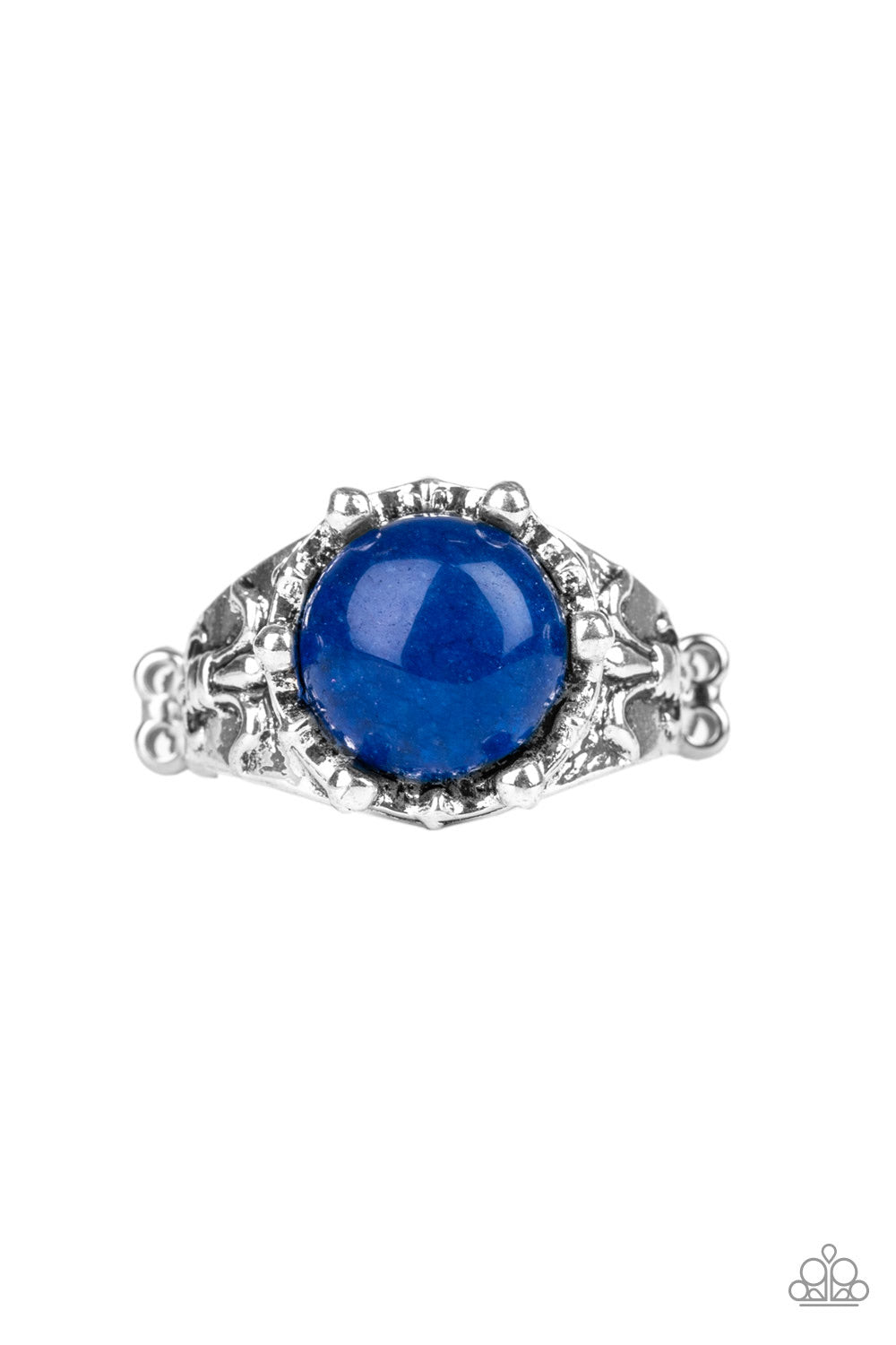 Paparazzi Mojave Treasure Blue Ring