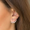 Paparazzi Big Dreams - Silver Post Earrings