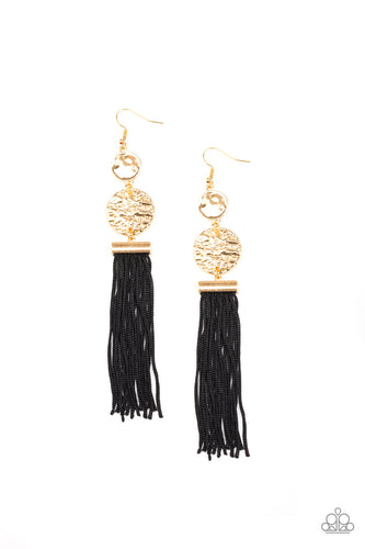 Paparazzi Lotus Gardens - Gold Earrings
