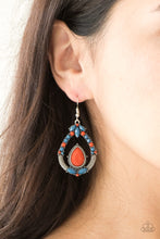 Load image into Gallery viewer, Paparazzi Vogue Voyager Multi Earrings