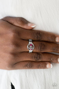 Paparazzi Oceanic Bliss - Pink Papa Ring