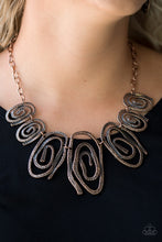 Load image into Gallery viewer, Paparazzi My Cave Is Your Cave - Copper Necklace