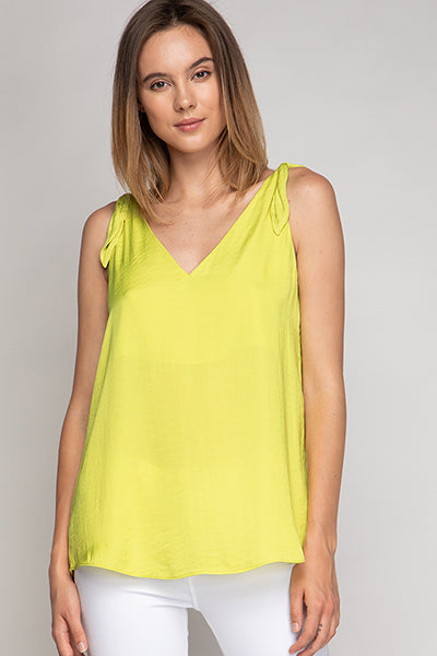 Chartreuse Tank