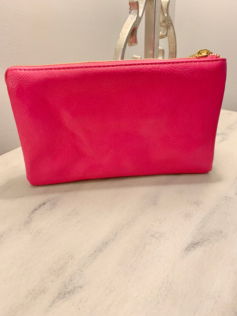 Hot Pink Wallet Purse