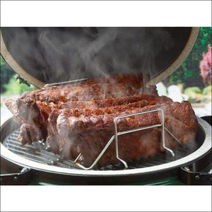 Big Green Egg - Rib and Roast Racks - Accessories for Barbeques