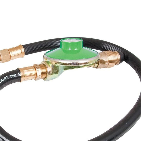 Companion Low Pressure POL Regulator with Hose 1200mm - Accessories for Barbeques