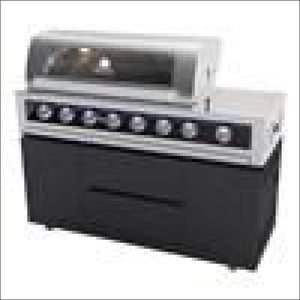 Gasmate - Galaxy Black 6 Burner BBQ - Gas Barbecues