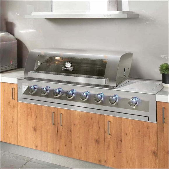 Gasmate - Galaxy Premium 6 Burner Built In - Inbuilt Barbecues