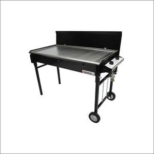Heatlie - Barbecue 1150 Black- 5mm plate- with lid - Gas Barbecues
