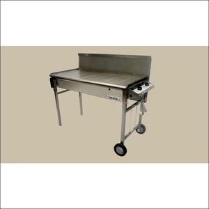Heatlie - Barbecue 1150SS- Stainless Steel- 5mm Plate- with lid - Gas Barbecues