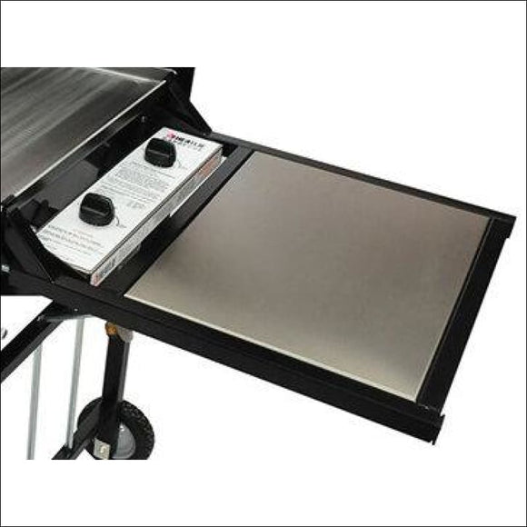 Heatlie - End Table Black - Spare Parts for Barbeques