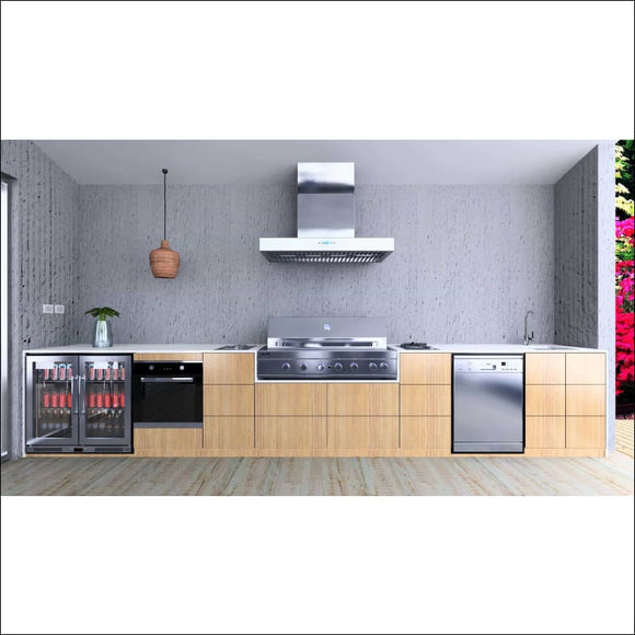 LA MODA - 5.09 Metres - Backyard Kitchens