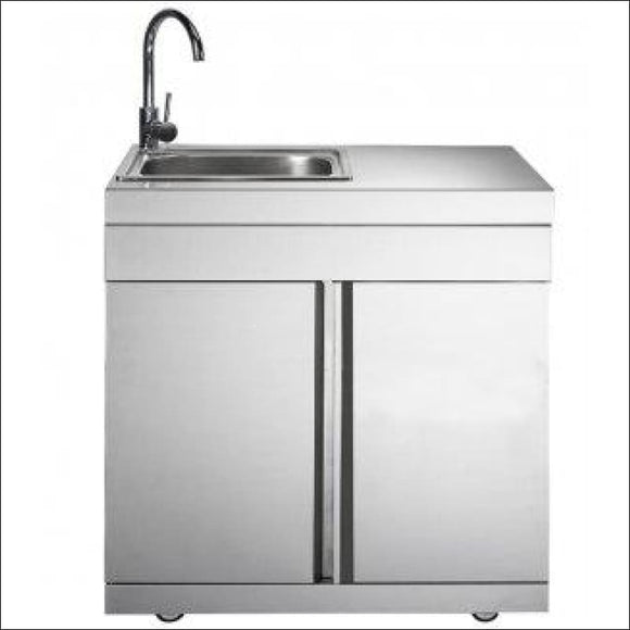 Masport - Ambassador Sink Module Stainless Steel - Backyard Kitchens