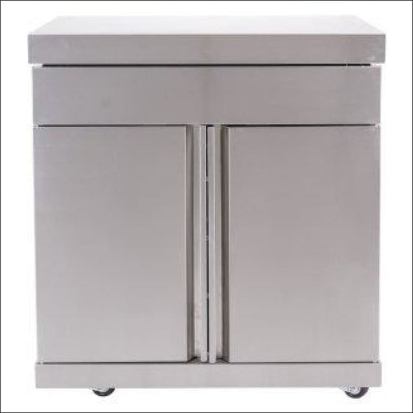 Masport - Ambassador Storage Module Stainless Steel - Backyard Kitchens