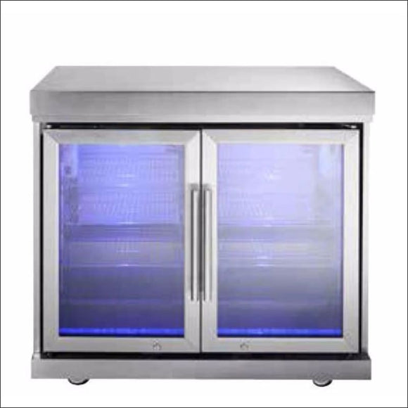Masport Ambassador Twin Fridge Module - Backyard Kitchens