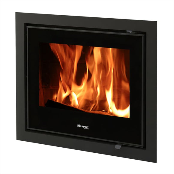 Masport - INVERELL steel inbuilt wood fire - Insert Wood Heater