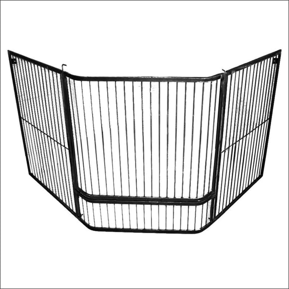 Maxiheat - Child Guard bars with Gate - Corner - Accessories for Heaters