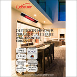 Outdoor Ceramic Glass Patio Heater Be Warm Outdoors - Heater