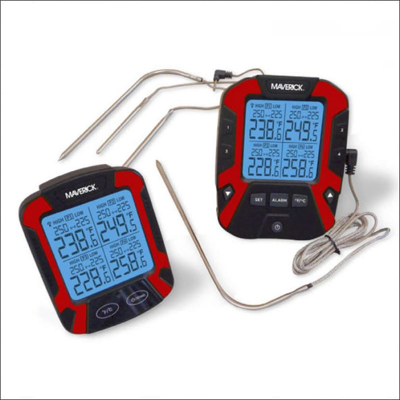 REMOTE BBQ THERMOMETER - FOUR PROBES - Accessories for Barbeques