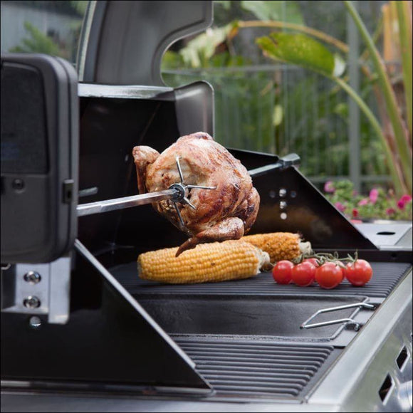 Rotisserie Kit Battery Powered - Accessories for Barbeques