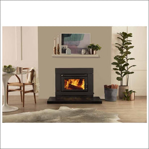 Saxon - Blackwood Insert Wood Heater - Insert Wood Heater