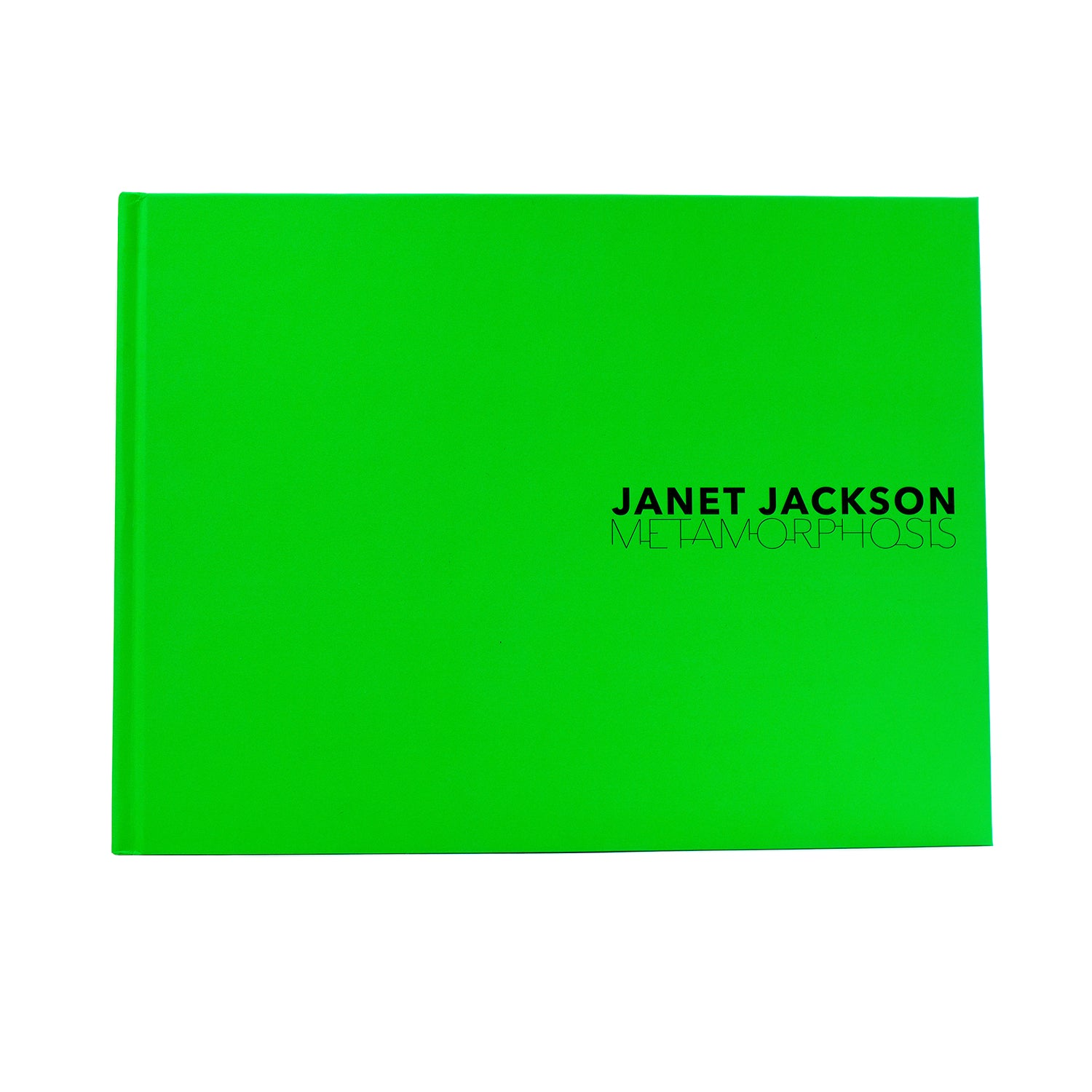 Janet Jackson personally HAND-SIGNED Metamorphosis Book