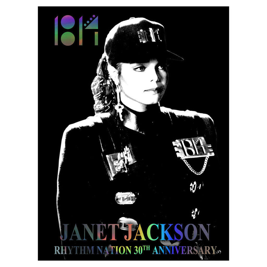 Rhythm Nation 30th Anniversary Lithograph
