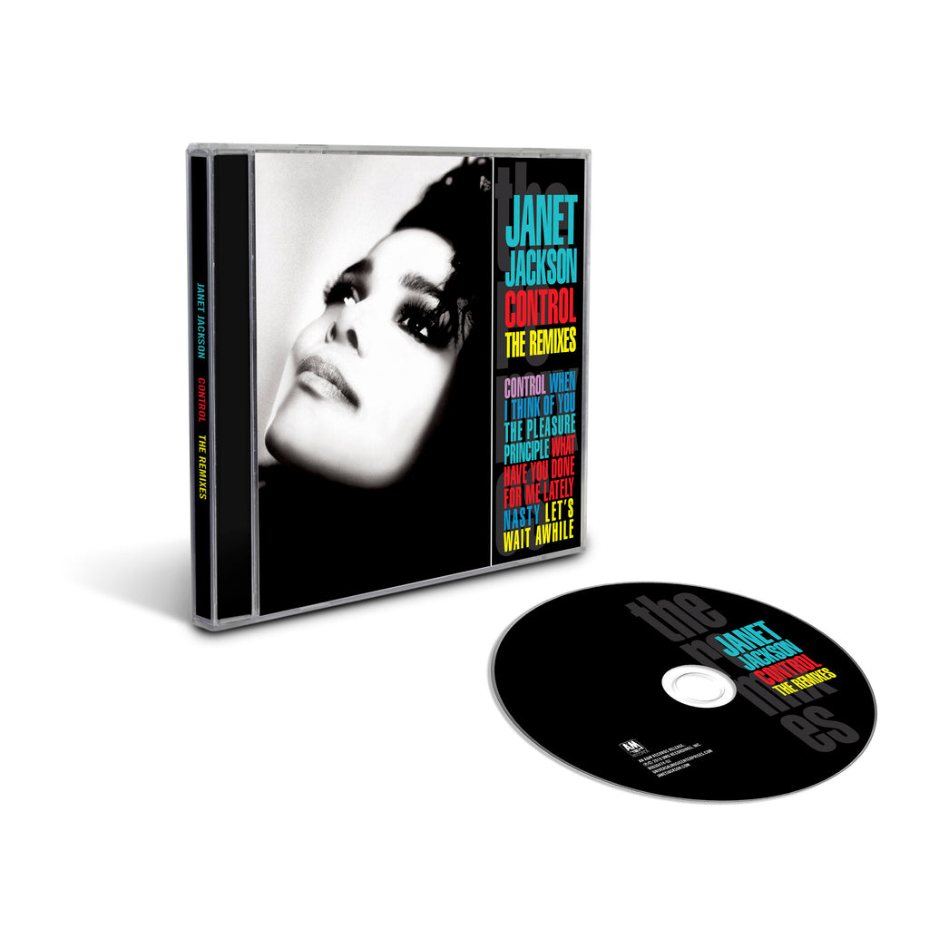Control: The Remixes CD