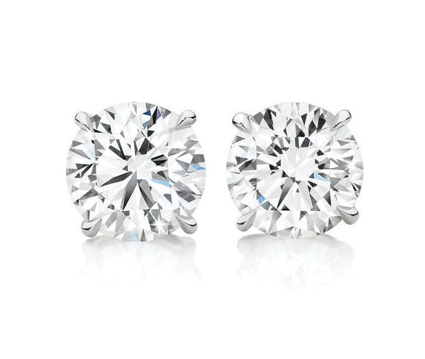 Diamond stud earrings Earrings Wedding Ring King
