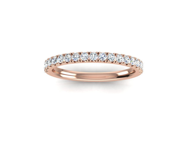 French Set - Rose Gold Wedding Ring King