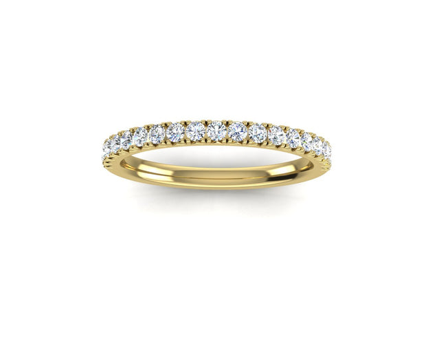 French Set - Yellow Gold Wedding Ring King