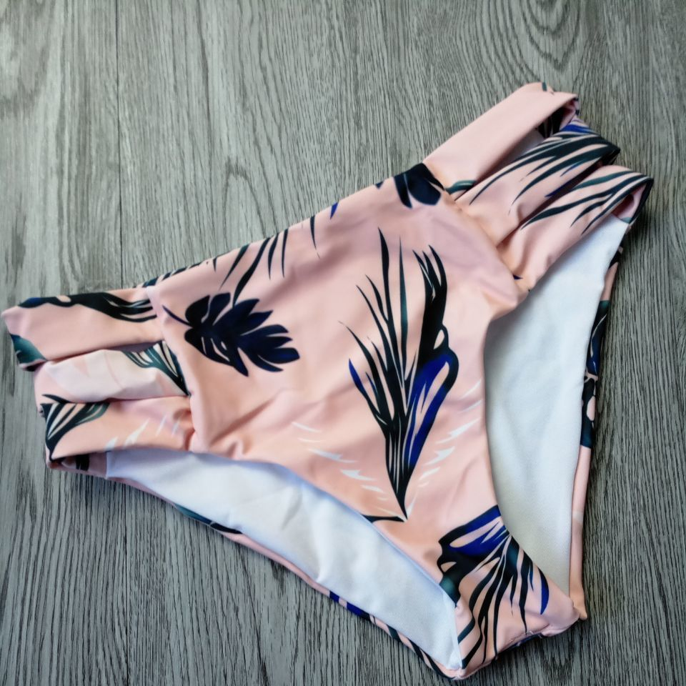 Floral-Halter Two-Piece