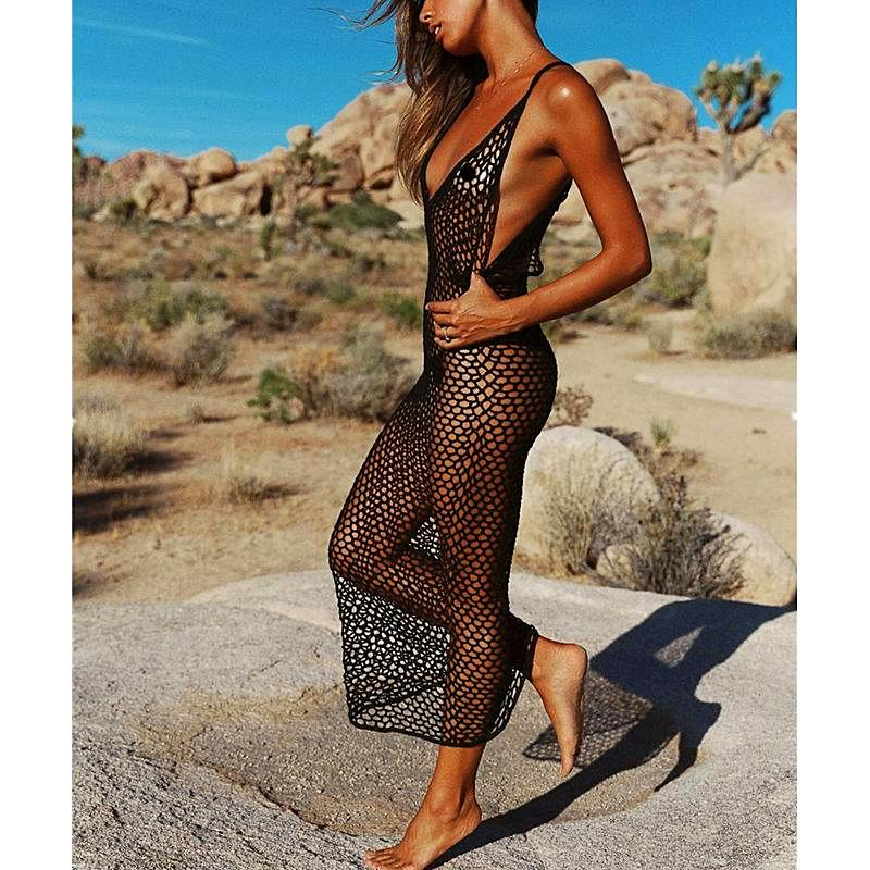 See thru Hot Cover up