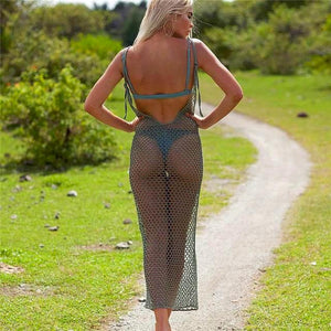 See thru Hot Cover Bikini cover up