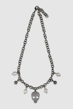 Stacia Skull Necklace