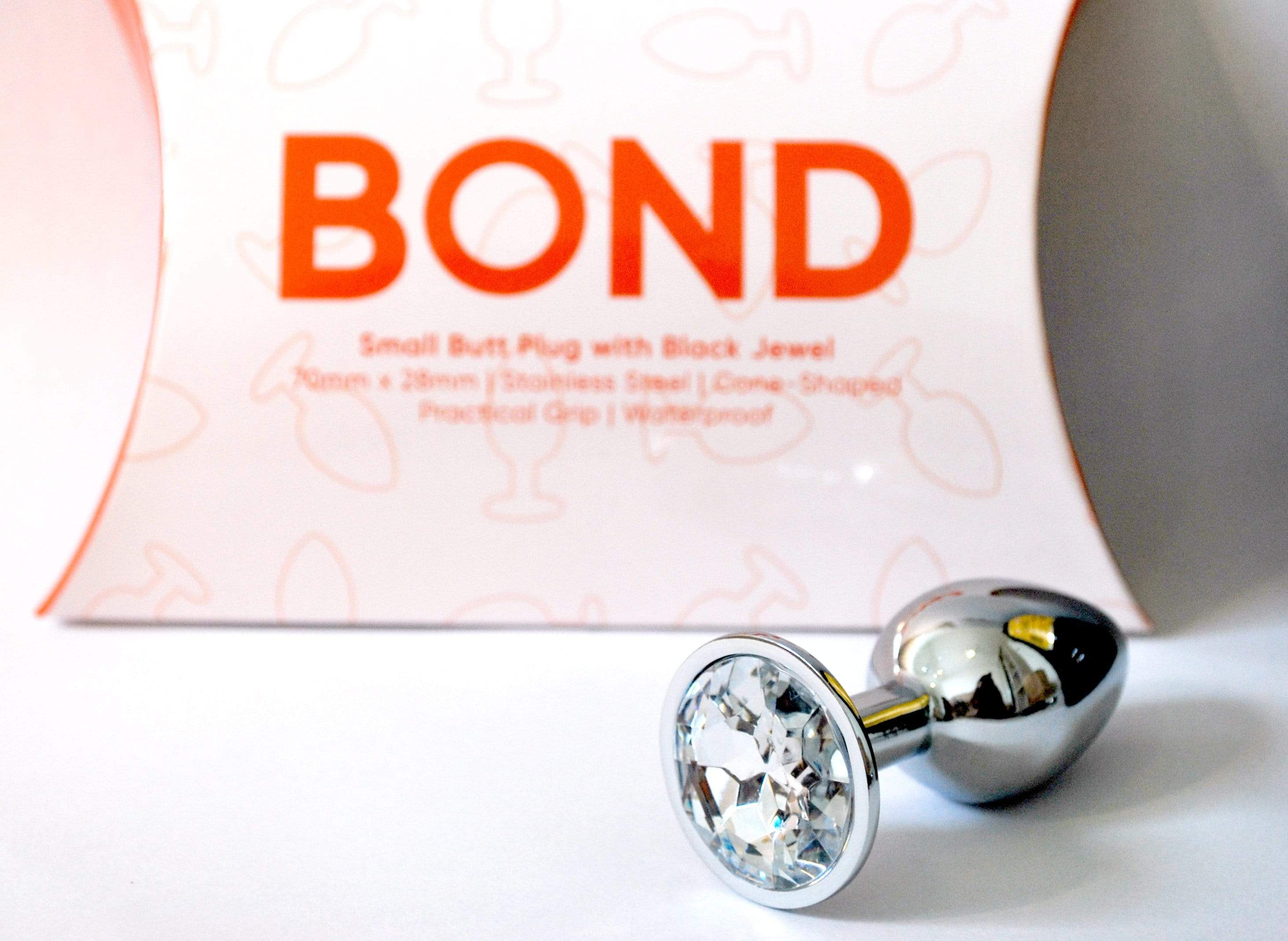 MY AMORA Anal Toy Bond - Small Butt Plug w. Jewel Clear