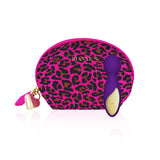 MY AMORA Vibrator Rianne S - Lovely Leopard Mini Wand Deep Purple