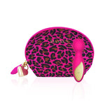 MY AMORA Vibrator Rianne S - Lovely Leopard Mini Wand Rose Pink