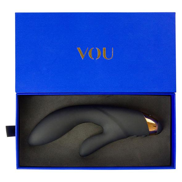 MY AMORA Vibrator VOU - Virgo Rabbit Vibrator Black